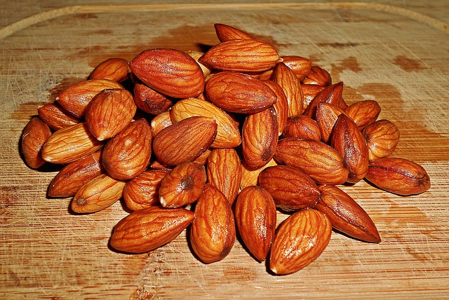 amandes trempees